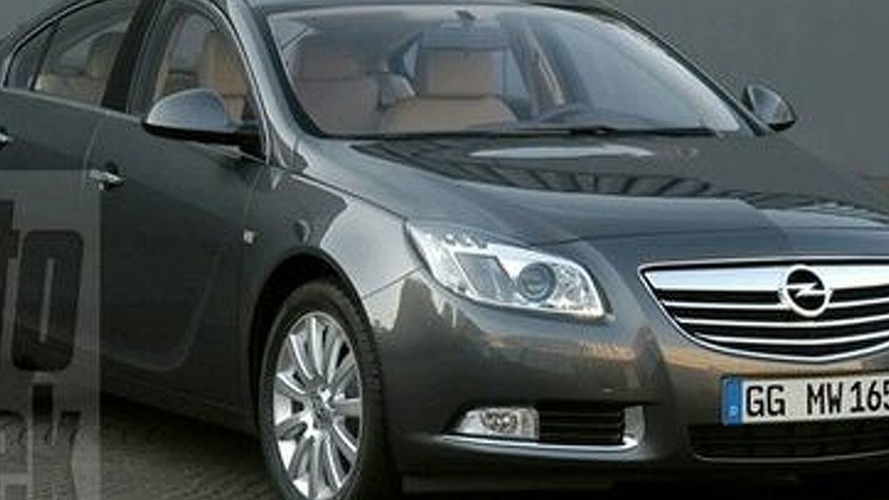 New Opel Insignia Leaked