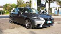 Lexus IS Hybrid Luxury, test di consumo reale Roma-Forlì