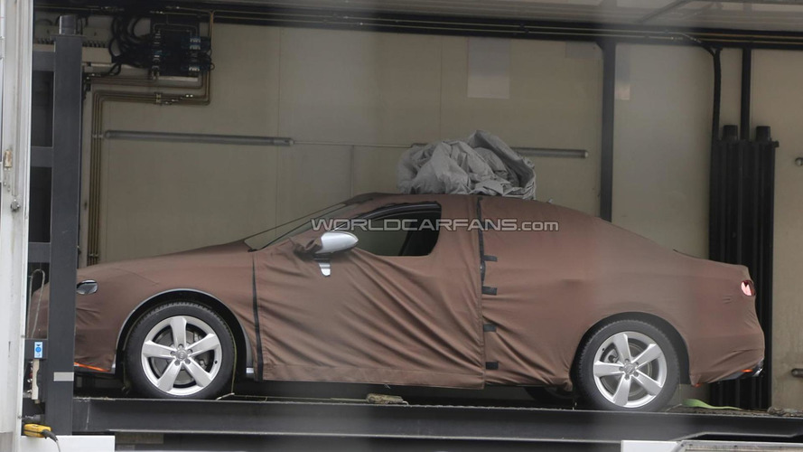 Next-gen Audi A4 spied for the first time