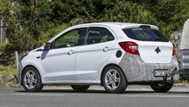 2017 Ford Ka Euro-spec spy photo