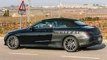 2017 Mercedes-AMG C43 Cabriolet spy photo