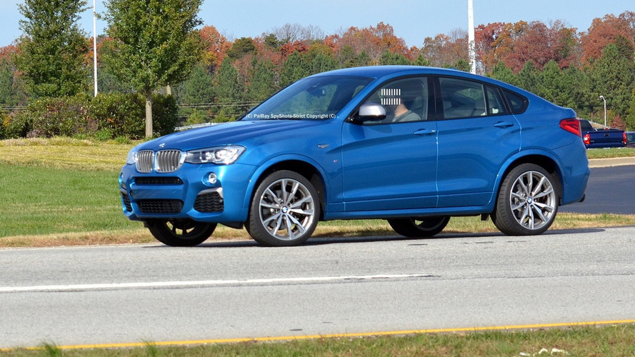 BMW X4 M40i Long Beach Blue first real shots are out