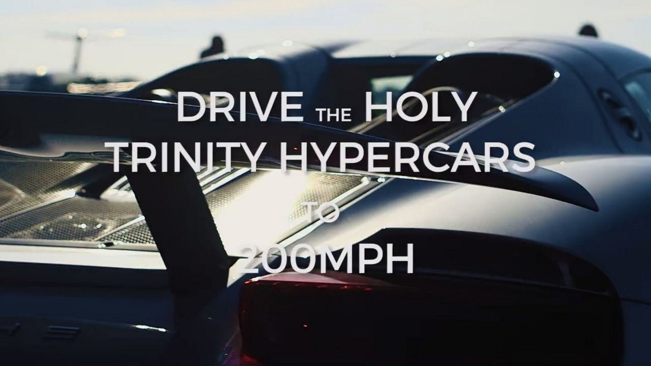 The Hypercar Holy Trinity 200MPH Challenge