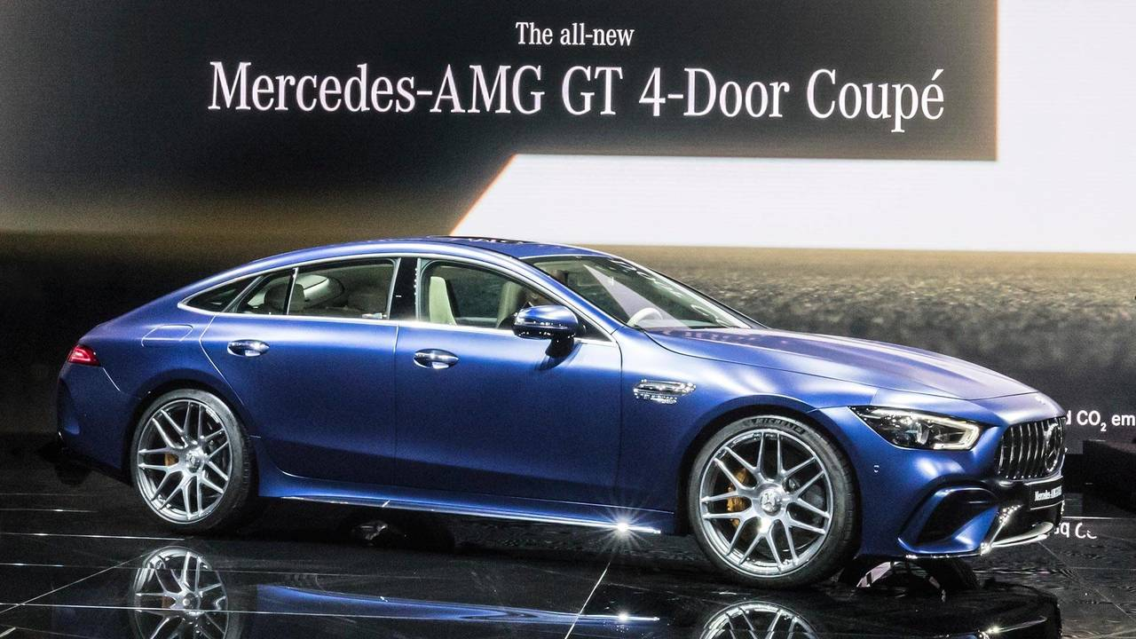 High Quality 2019 Mercedes AMG GT 4 Door Coupe