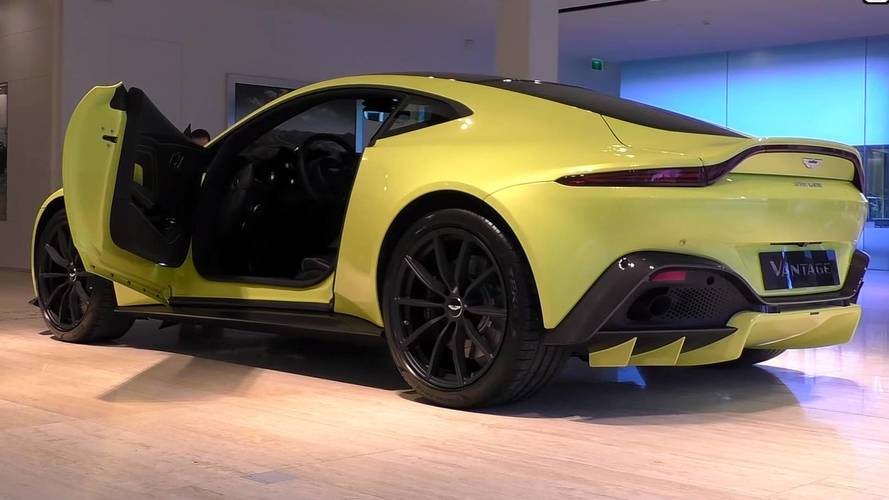 Aston Martin Vantage Gets The Walkaround Treatment