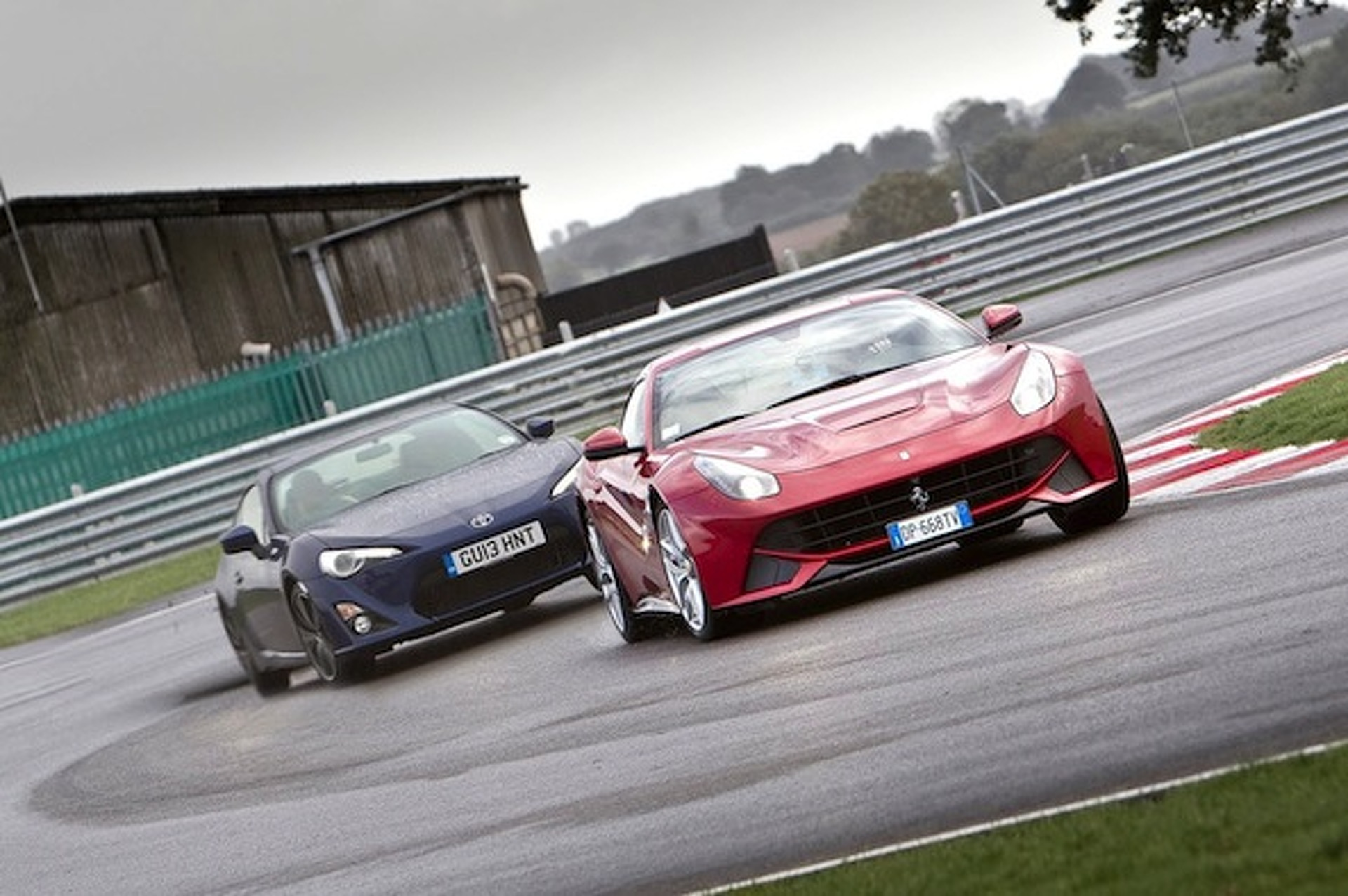 Is the Toyota GT 86 More Fun than a Ferrari? [video]