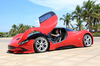 This Chinese Student Built an Electric 'Supercar' For $5,000