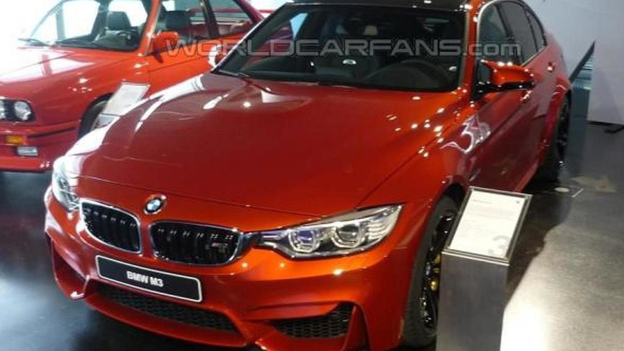 BMW M3 also receives a facelift