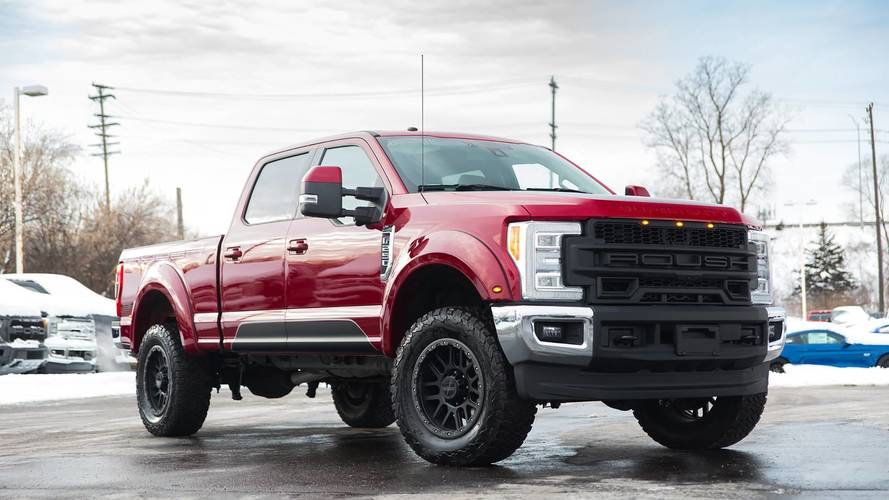 Roush Rumbles Into The Super Duty Truck Market With Jacked F-250