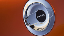 Chrome fuel cap