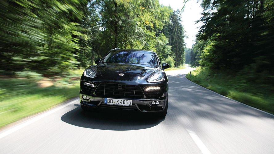 TECHART stage 2 power kit for Porsche Cayenne Turbo and Porsche Panamera Turbo