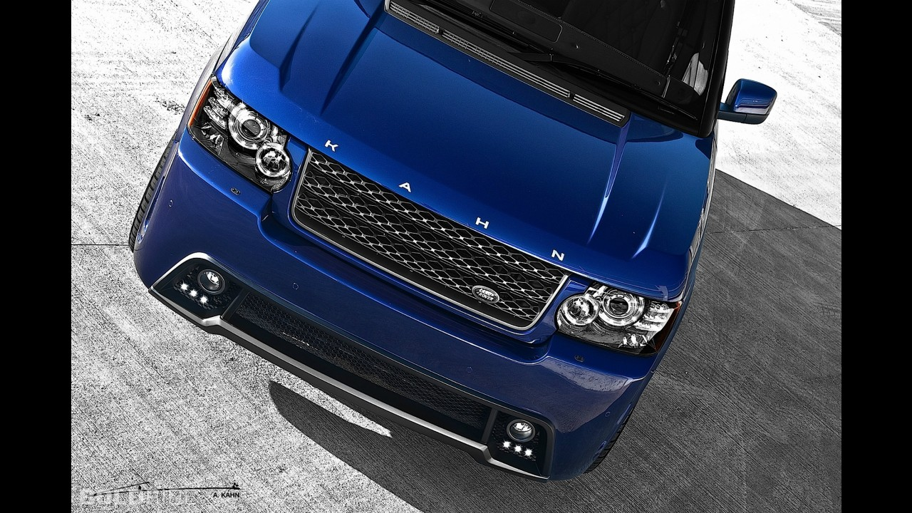 A. Kahn Design Range Rover Vogue Bali Blue RS450