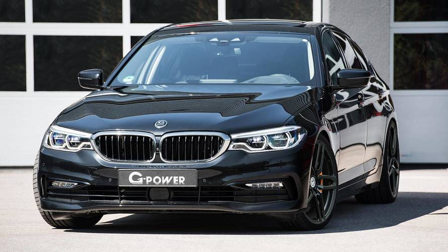 BMW M550d Tuned To A Mountain-Moving 634 LB-FT