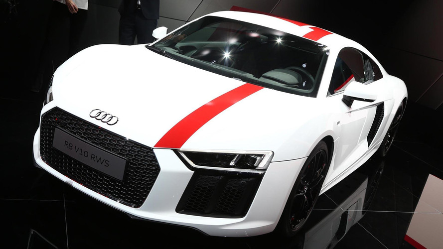 Audi R8 V10 RWS Revealed With Rear-Wheel Drive, Lower Weight