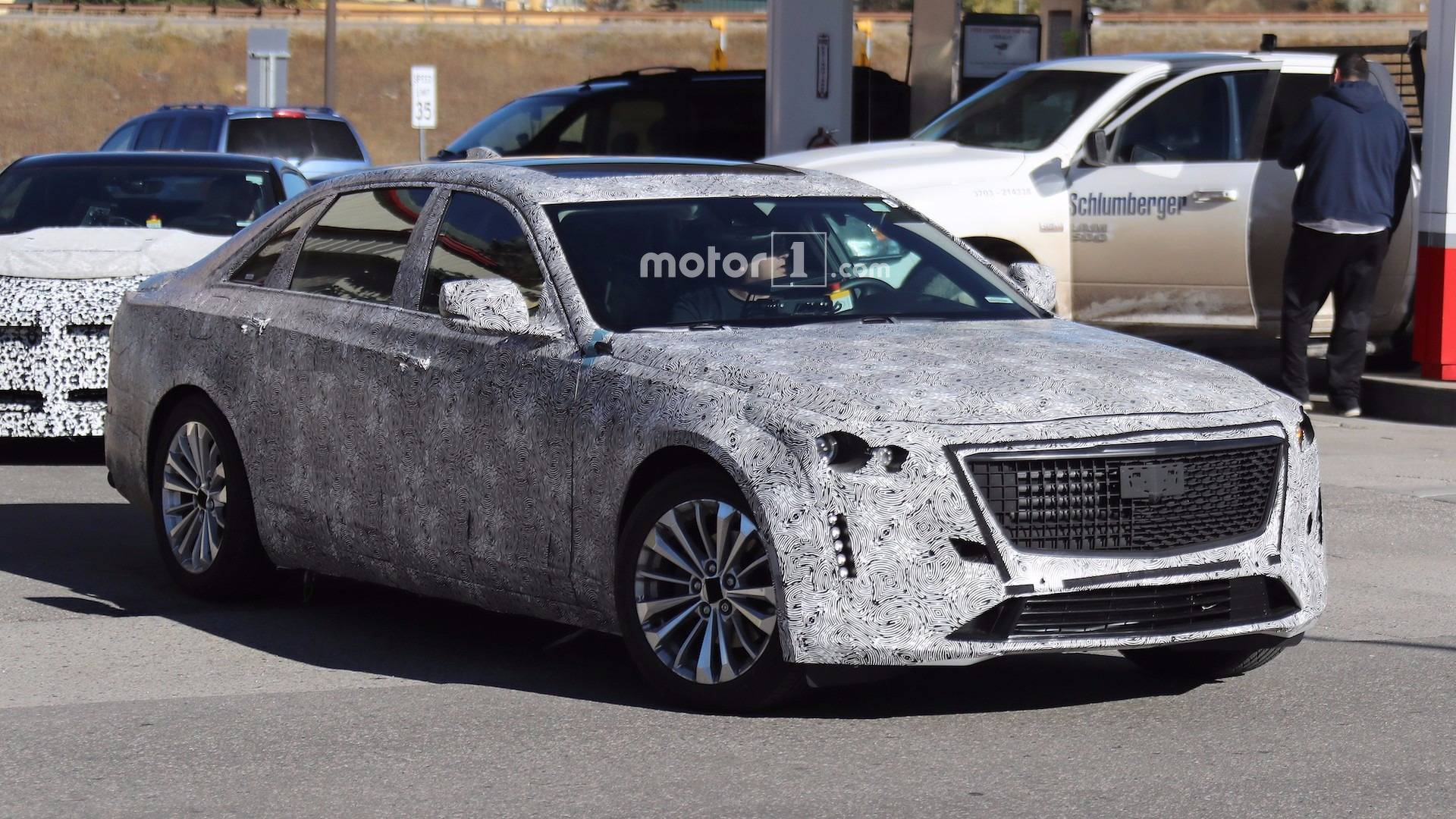 2019 Cadillac CT6 Prototype Shows Off Escala-Inspired ...