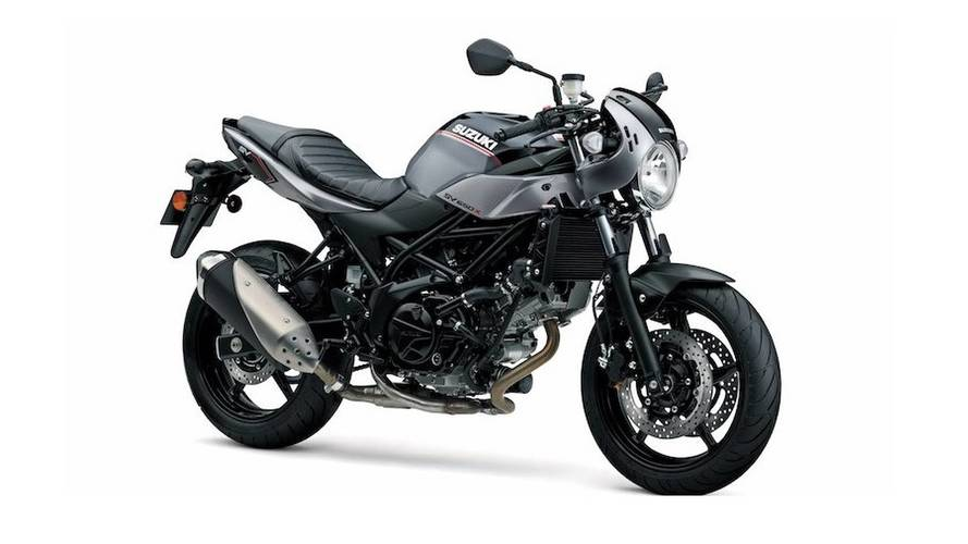 Suzuki Tries For Retro With The SV650X Cafe