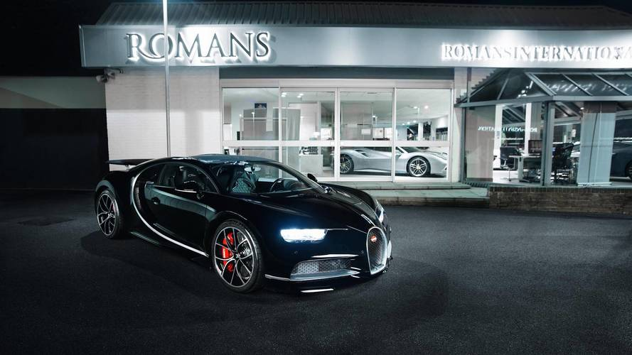 First secondhand Bugatti Chiron up for sale in Banstead for £3.6m