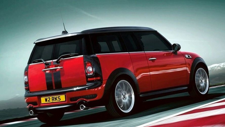 First Photos Leaked of John Cooper Works MINI Clubman