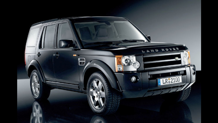 Black ist beautiful: Sondermodell des Land Rover Discovery