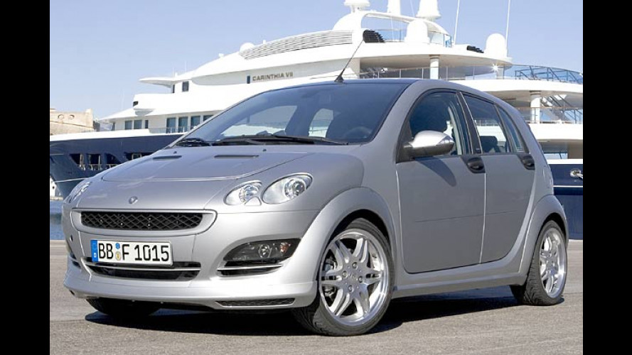 Smart Forfour Brabus: Forfour for your fun