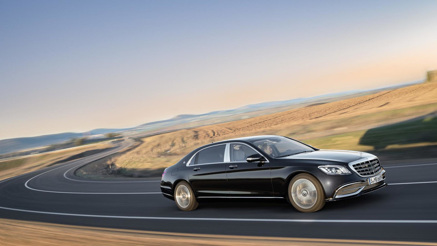 2018 Mercedes S-Class facelift technology