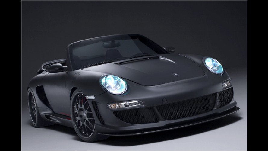 Black is beautiful: Gemballa Avalanche Roadster GTR 600