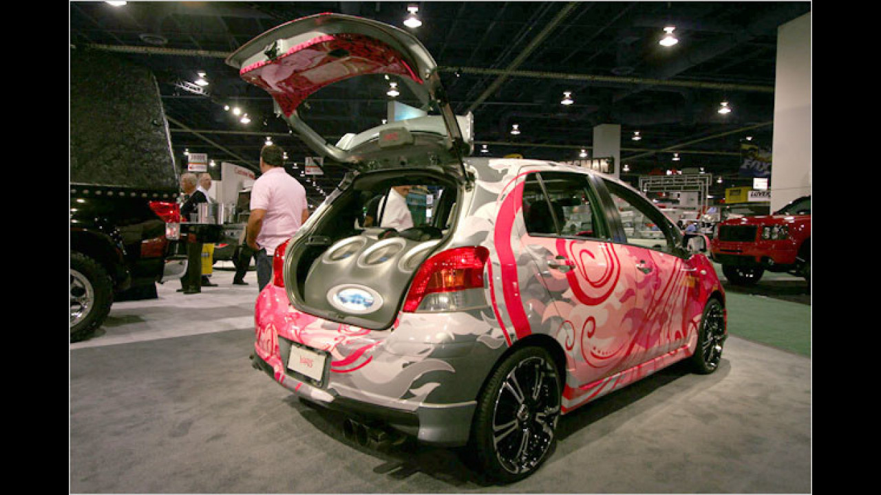 Toyota Hard Candy Yaris