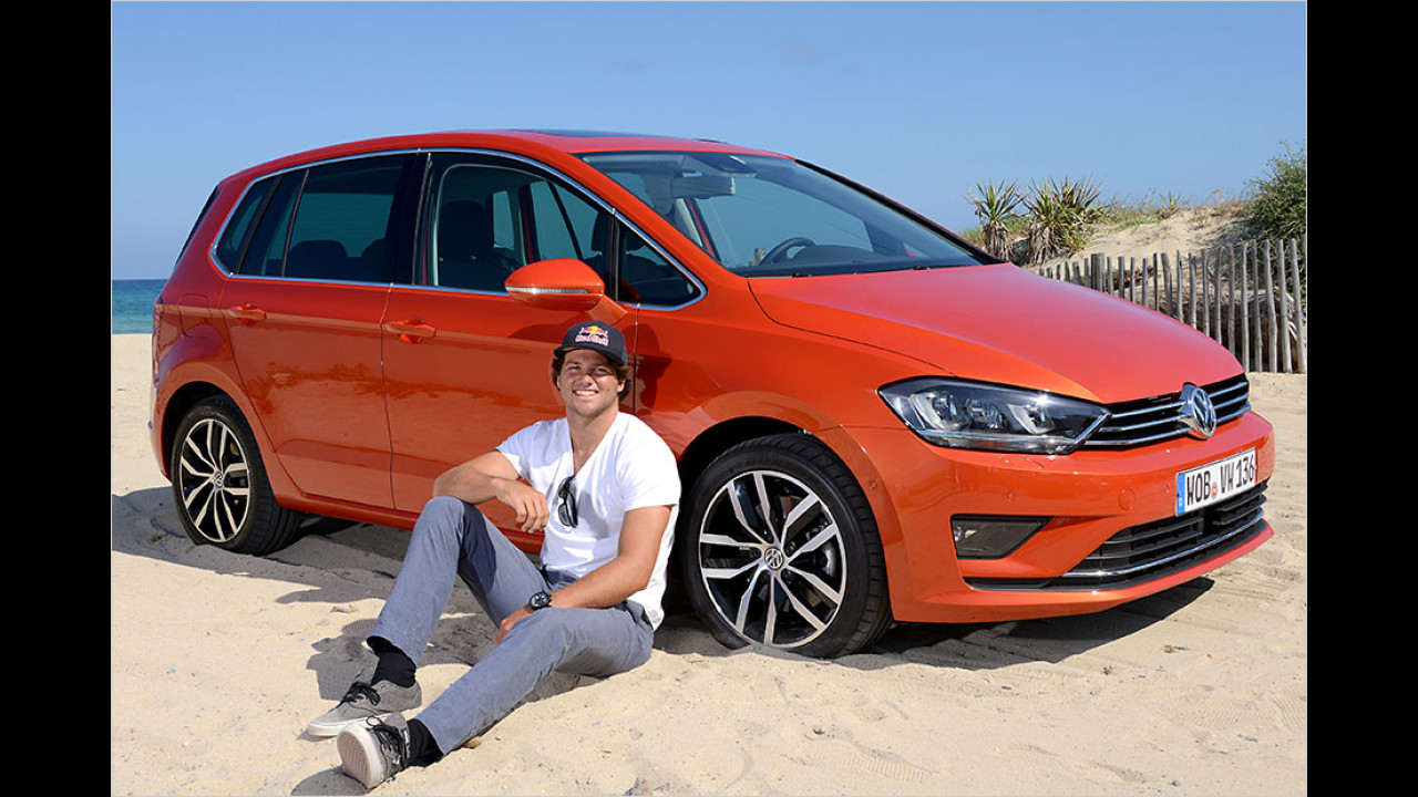 Philipp Köster: VW Golf Sportsvan