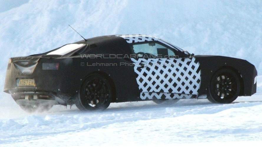 new Lotus  Eagle spied -  on Ice