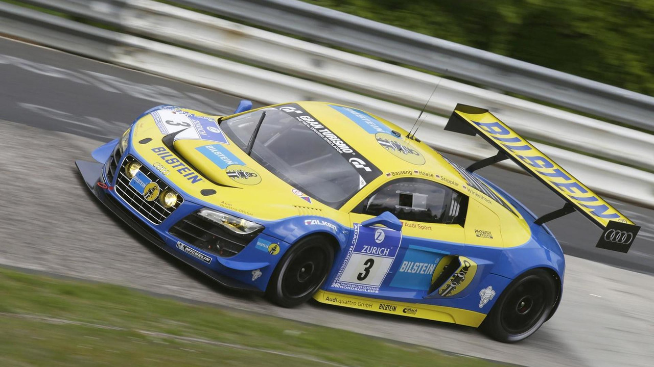 Audi R8 LMS Ultra in 2012 Nurburgring 24hrs race