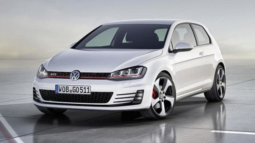 2013 Volkswagen Golf VII GTI concept revealed