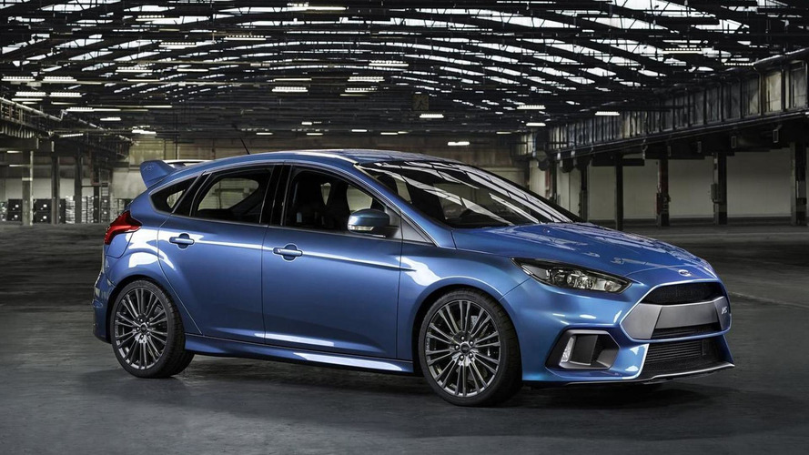 All-wheel drive Ford Focus RS arrives in Geneva with drift button and launch control