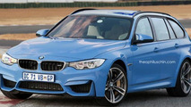 BMW M3 Touring render