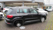 Wheel theft at Auto Center Mühlenbruch GmbH