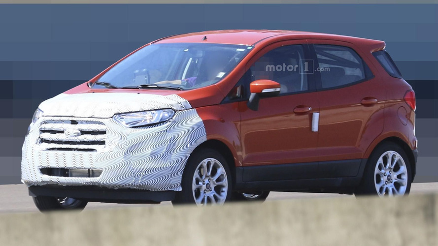 Ford EcoSport facelift spied in Europe ahead of 2017 launch