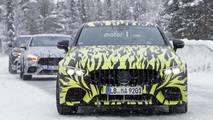 Mercedes-AMG Four-Door GT Coupe spy photo