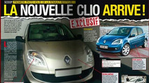 Clio facelift spied in French magazine