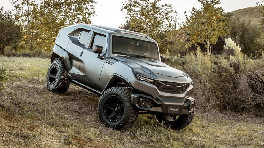 Rezvani Unleashes The 500-HP Tank For Tackling Toughest Trails