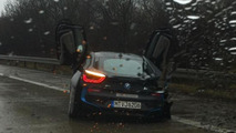BMW i8 crash in Germany