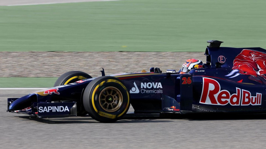 Toro Rosso in dark about 2014 car - Tost
