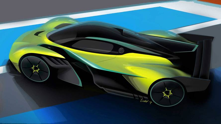 Aston Martin Valkyrie AMR Pro revealed