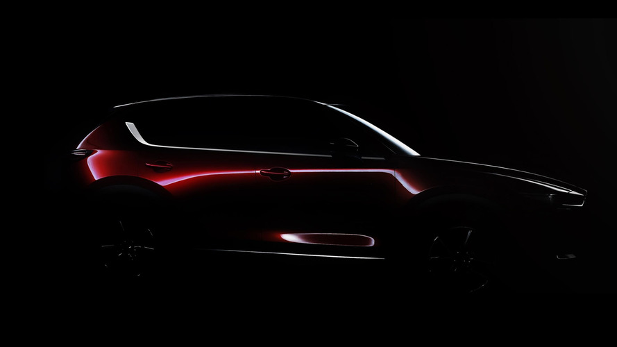Mazda teases all-new CX-5 crossover ahead of L.A. debut