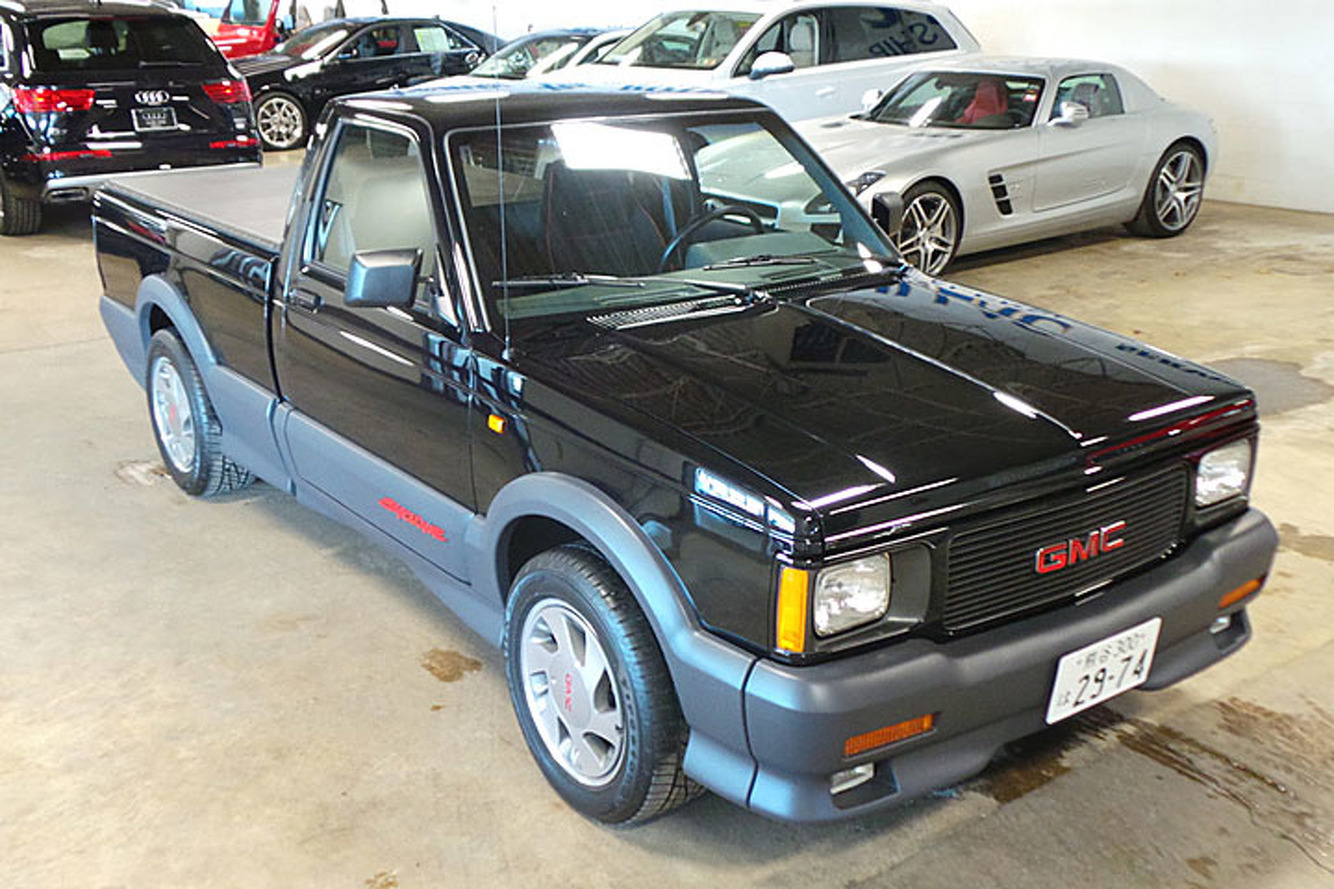 This 91 Gmc Syclone Has Driven 395 Miles In 25 Years