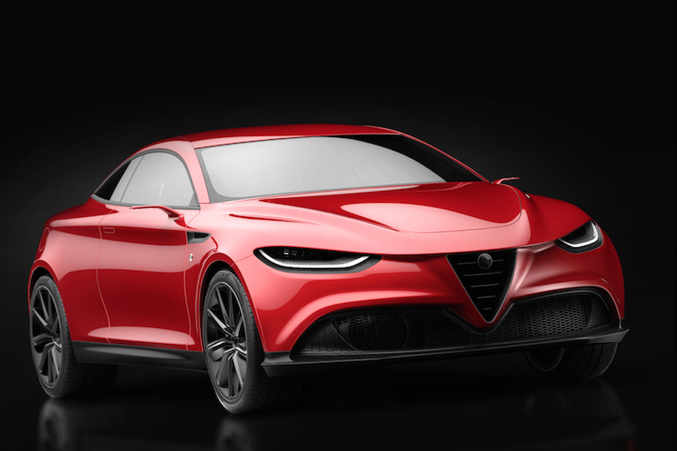 alfa romeo s future could lie in this sultry sports coupe. Black Bedroom Furniture Sets. Home Design Ideas