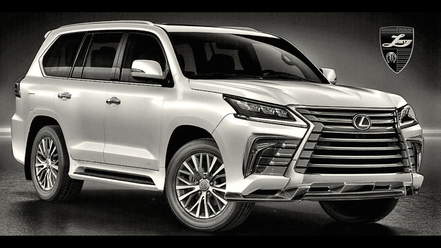 Lexus LX gets an aggressive new styling package