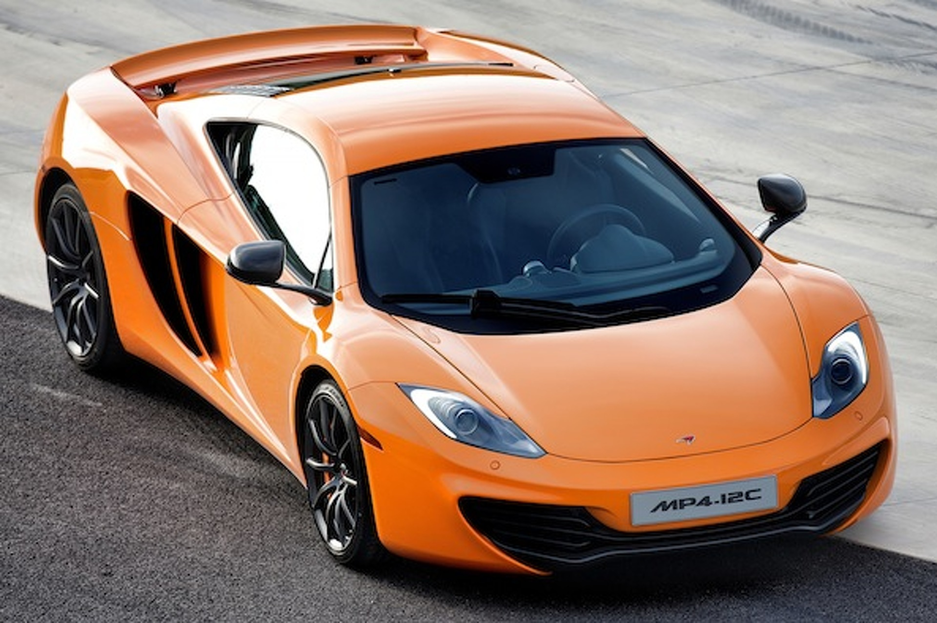 McLaren Ditching Windshield Wipers for Ultrasonic Forcefield