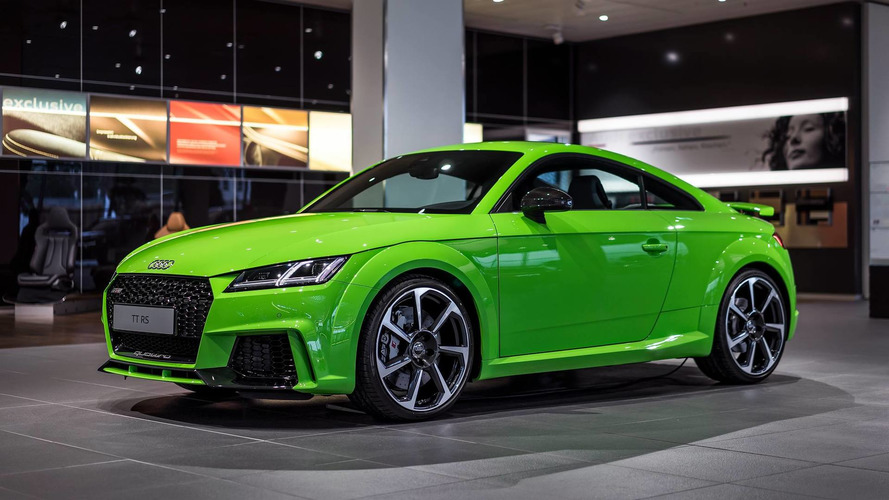 Hulk would drive 2016 Audi TT RS Lime Green