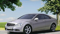 2008 Mercedes CLK computer illustration