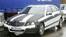 New 2010 Mercedes E-Class Down to Last Strips of Camouflage