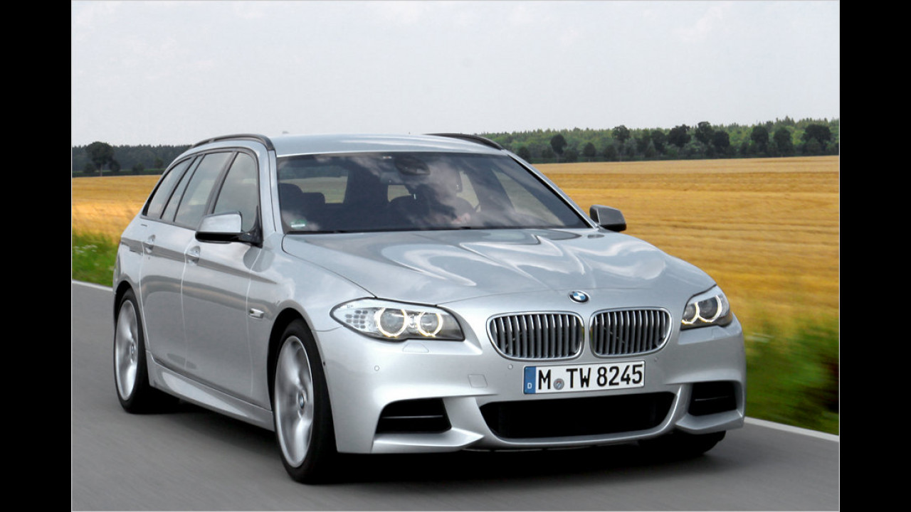 7. Platz: BMW M550d xDrive Touring Steptronic